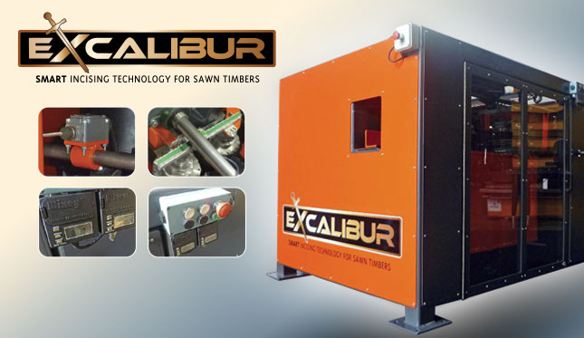 Excalibur Incisor Machine